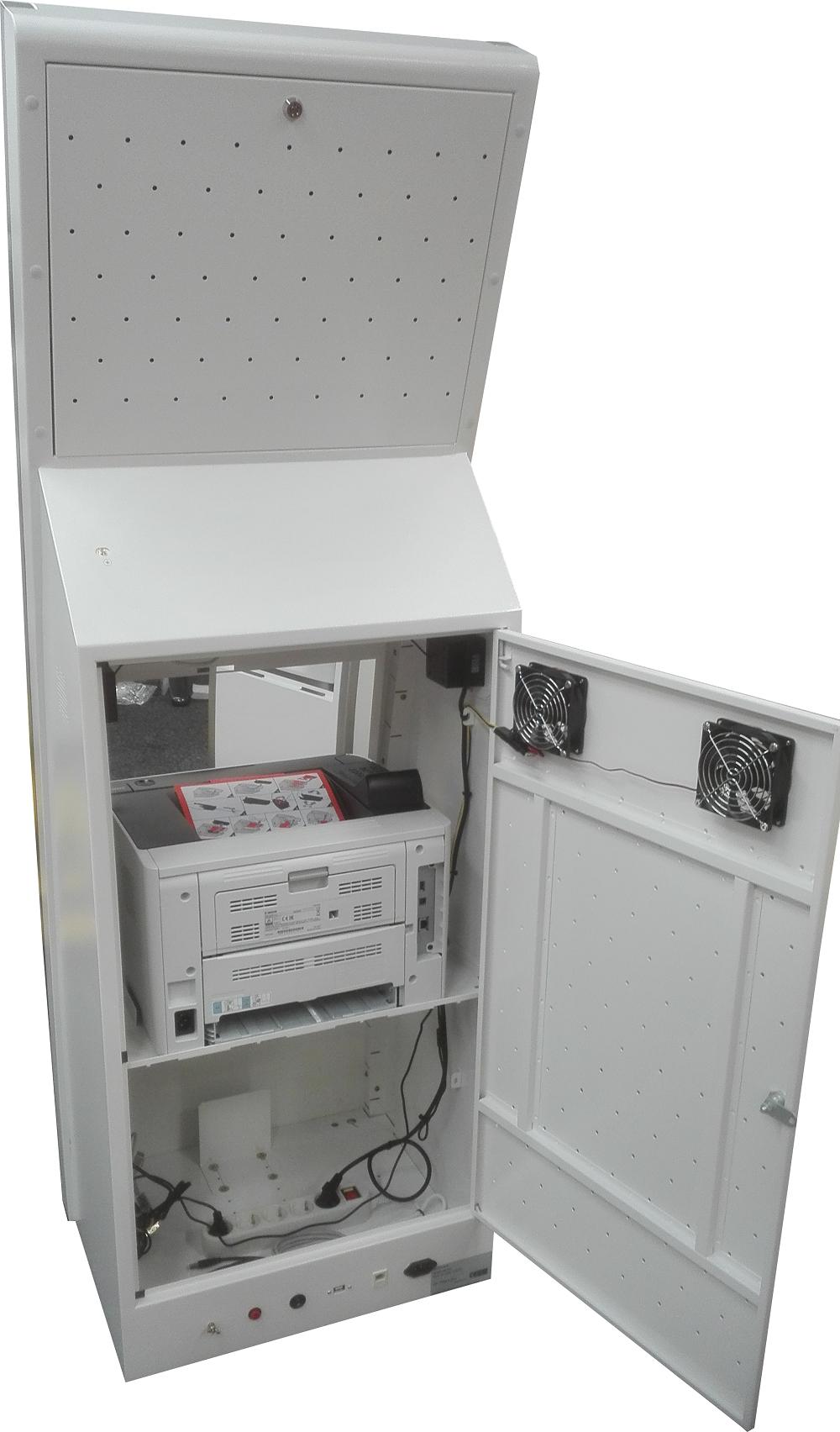 Interaktives Kiosk BM-K17 mit A4 Drucker