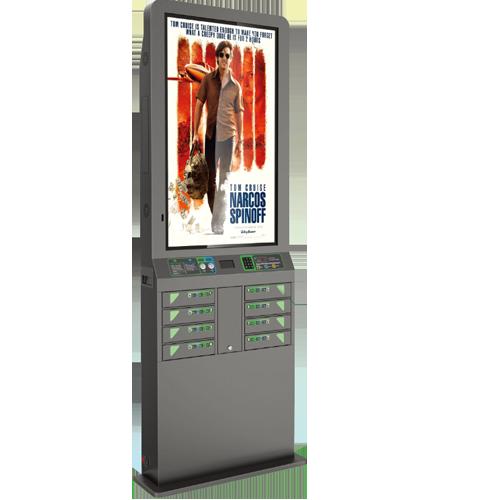 Öffentliche Ladestation -Smartphone-mit -Bildschirm-43-Zoll-Einkaufszentrum-212